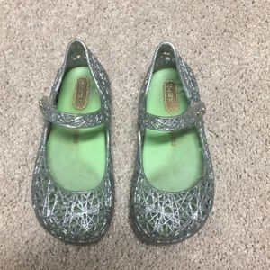 Mini Melissa + campana sandals